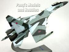 Su-35 (Su-27) Super Flanker Blue Camo 1/72 Scale Diecast Model by Air Force 1