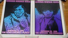 Warren Haynes Denver & SF Set Screen Print Chuck Sperry Matching Numbered Set