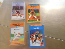 Lot of 4 MAtt Christopher books 2 hockey 2 baseball