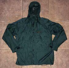 Mountain Hardwear Mens Green Nylon Rain Coat Size M