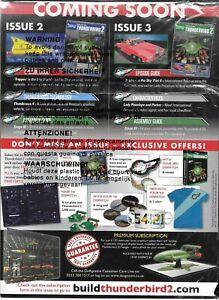 DeAgostini Gerry Anderson Build Thunderbird 2 Issue 1 2017 Sealed