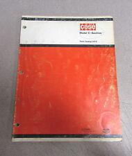 Case 31 Backhoe Parts Catalog Manual 1972 C672