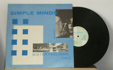 SIMPLE   MINDS  Sister feelings call  1981  VIRGIN  OVED  2   LP