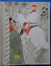 TOULOUSE-LAUTREC : Le cavalier blanc - LITHOGRAPHIE signée#1927