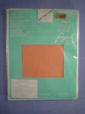 Fogal Style 108 Opaque Nylon Pantyhose Size LX in Abricot