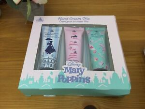 Mary Poppins Hand Cream Trio, 3 x 30ml Gift Set - Peony Cherry Poppy Tuberose