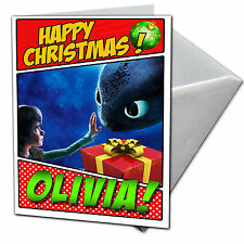 how to train your dragon personalised christmas card free shipping chrlas16 - How To Train Your Dragon Christmas