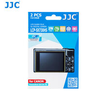 JJC LCD Screen Guard Protector PET Film for Canon Powershot SX740 HS x 2pcs