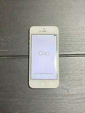 Apple iPhone 5 - 32GB - White & Silver A1428 (GSM) - Org AT&T but Unlocked