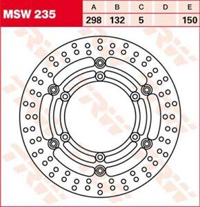 Bremsscheibe Yamaha XV535 Virago 2YL 3BR Bj. 1990 TRW Lucas MSW235