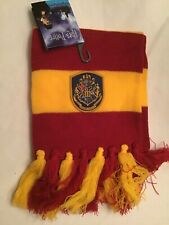 elope Harry Potter Gryffindor  Hogwarts House Scarf -new With Tags.