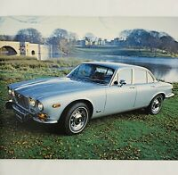 1973 Jaguar XJ-6 Sedan Sales Brochure Specifications Options British Leyland