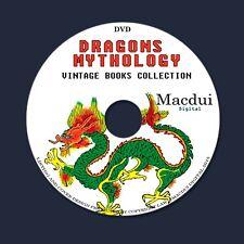 Dragons Mythology China,Japan,Celtic,Serpent – Vintage Ebooks 11 PDF on 1 DVD