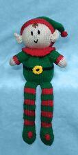 KNITTING PATTERN - Elf Shelf Sitter Choc orange cover / 28 cms Christmas toy