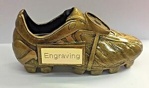 Football Golden Boot + FREE LASER Engraving