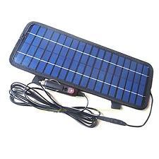 Chargeur De Batterie 4.5W / 12Volt Smart Power Panneau Solaire Pour Voiture Bate