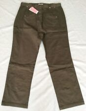 *BNWT* Casual Comfort Marisota Cotton Sage Stretchy Trousers Size 20