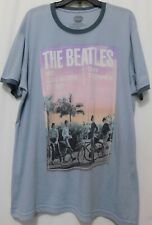 Official Licensed THE BEATLES  Day Tripper  Ringer T Shirt 2X Tee Gray Graphic