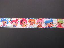 "lalaloopsy dolls 1 grosgrain ribbon 7/8"" per 1 m hair scrapbooking card making"