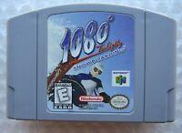 *GREAT* 1080° Snowboarding Nintendo 64 N64 Video Game TenEighty Super Fun 🏂