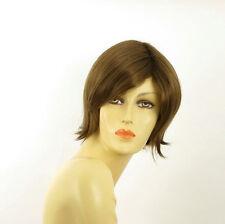 Perruque femme courte châtain clair doré MARINA 12