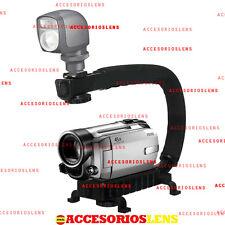 Brazo estabilizador de mano para Cámaras Réflex,DV Videocámara,soporte grabación