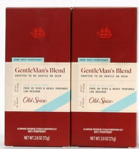 2 Ct Old Spice 2.6 Oz GentleMan's Blend Aloe & Wild Sage 48 Hour Antiperspirant