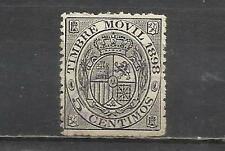 3076-SELLO TIMBRE MOVIL 5 CTS 1898 ,DIFICIL 5,00€