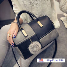 Women PU Leather Handbag Shoulder Purse Tote Satchel fall winter Crossbody Bag