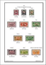 -Album de timbres Lattaquié 1931-1933 à imprimer