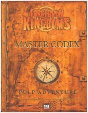 Forbidden Kingdoms Master Codex Modern d20 RPG OWC 3001 Indiana Jones (New)