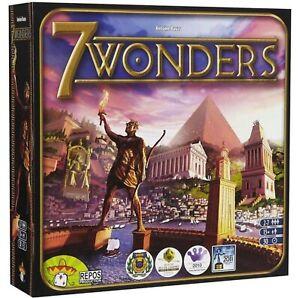 7 Wonders Board Game - Sealed - Antoine Bauza Asmondee  Family Tabletop GIFT