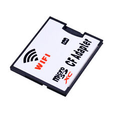 WIFI Memory Card Adapter Micro SD TF to CF Compact Flash Card Kit for Digit