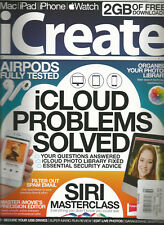 iCREATE MAGAZINE iCLOUD PROBLEMS SOLVED ISSUE 169,WITH 2GB OF FREE DOWNLOADS