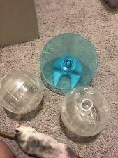 Hamster Rat Running Wheel Rodent Play Toys Running Balls