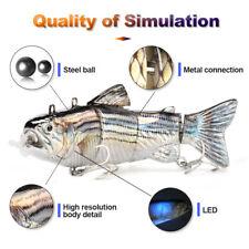 Eléctrico en vivo Cebos, natación robótica segmento de pesca Señuelos-Animado Swimbait