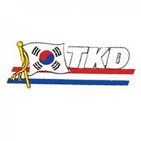 "4/"" P1211 TKD Taekwondo Martial Arts Patch"