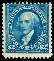 MOMEN: US STAMPS #262 NO WMK MINT OG H