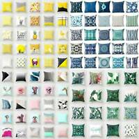 Elegant Boho Bohemia Pillow Case Animal Theme Beautiful Waist Cover Sofa Cu F9Z2