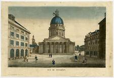 Optical Antique Print-PANTHEON-PARIS-FRANCE-Basset-ca. 1770