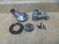 Kawasaki 500 EN VULCAN EN500-A1 Used Engine Oil Pump Assembly 1990 #KB22
