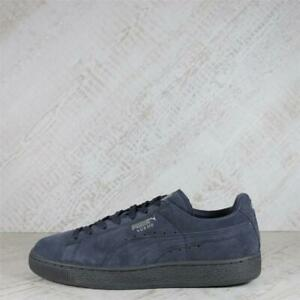 Womens Puma Suede Classic Mono REF Iced Navy Blue Trainers (50C16) RRP £69.99