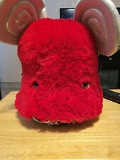 Lady Gaga's Workshop Barneys New York Plush Monster Stuffed Toy LG Red Wig RARE!