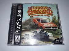 Dukes of Hazzard: Racing for Home (Sony PlayStation 1, 1999); used, complete