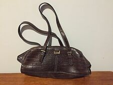 Authentic Duck Head Brown Leather Handbag-Purse
