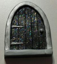 Dark Fairy door, mouse door, Gnome door