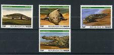 Niger 2015 MNH Nile Crocodiles 4v Set Reptiles Fauna Nile Crocodile