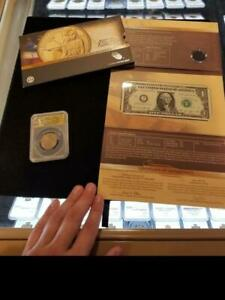 2014 D American Coin and Currency Set. ANACS EU69. Type 2 Edge Lettering