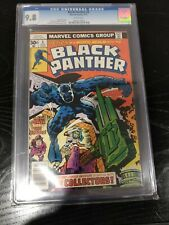 Black Panther #4 CGC 9.8 1977 Marvel Jack Kirby White Pages