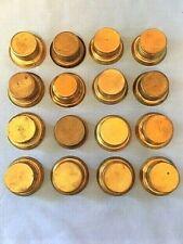 16 Lids for Miners Carbide Lamp Bottoms - Bases, Various Brands, Vintage Mining